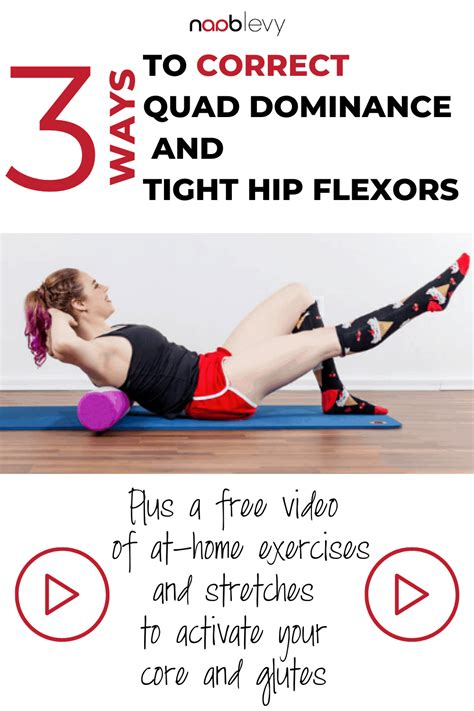 extremely tight hip flexors and glutes workout muscles diagram