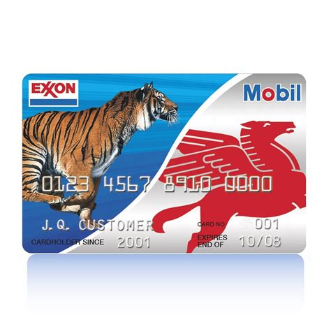 Exxon Mobil Credit Card Number Gasoline Gas Cards And Gas Savings Exxon And Mobil