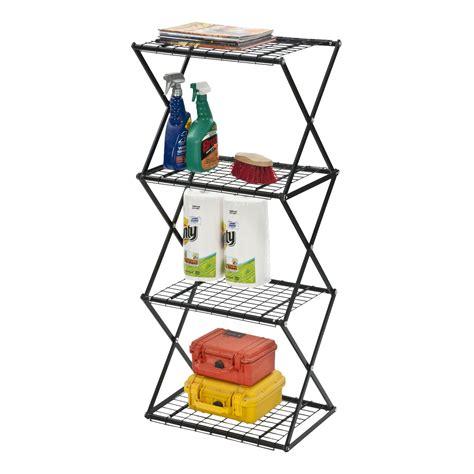Exy Narrow X-Up 48 4 Shelf Shelving Unit