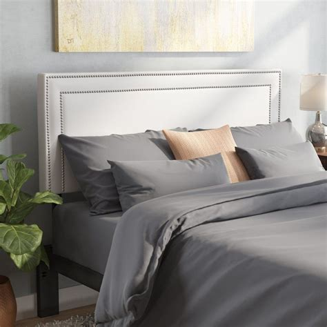 Eyre Twin Upholstered Panel Headboard