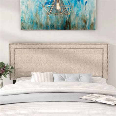 Eyre Upholstered Wood Panel Headboard