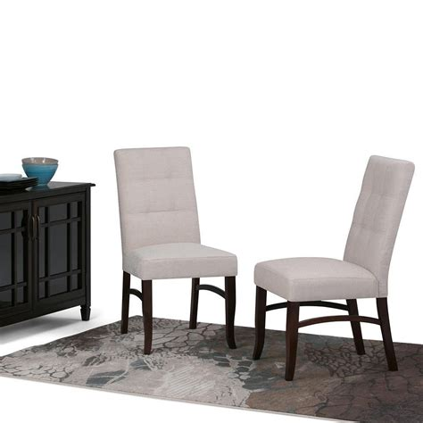 Ezra Deluxe Upholstered Dining Chair (Set of 2)