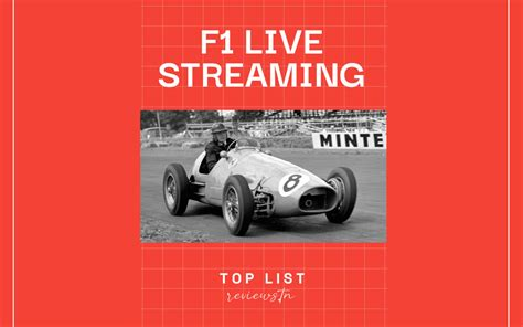 f1 streaming live