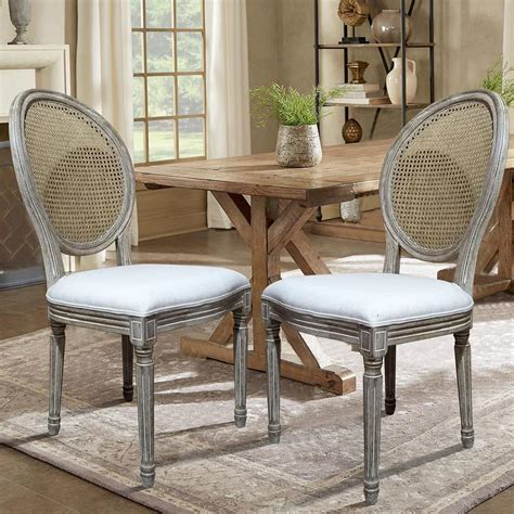 Faribault Cane Back Dining Chair (Set of 2)