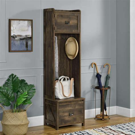 Farmington Leather Storage Bench