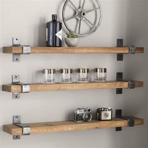 Farrell Industrial Wall Shelf