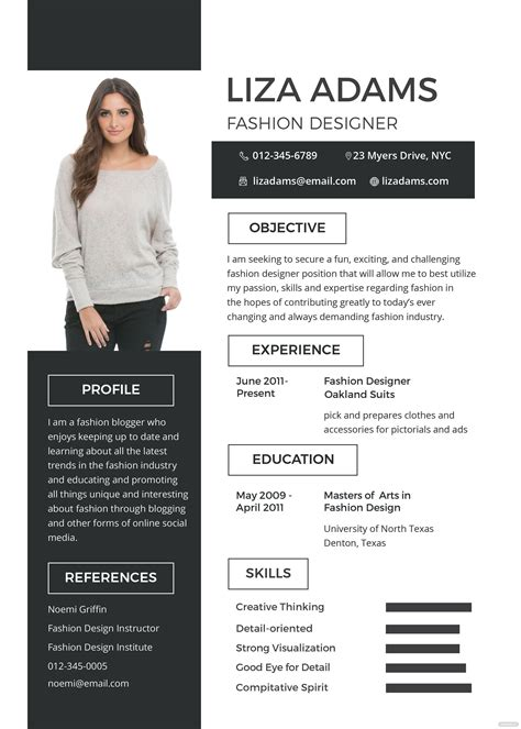 fashion designer resume examples daycare lesson plan template