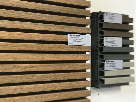 Fassadenverkleidung Holz Profile