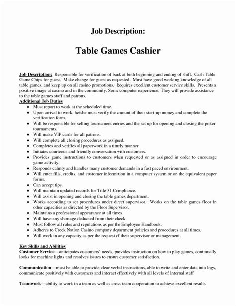 resume job description for fast food fast food cashier job description example job - Fast Food Job Description For Resume