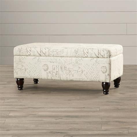 Fauver Fabric Storage Bench
