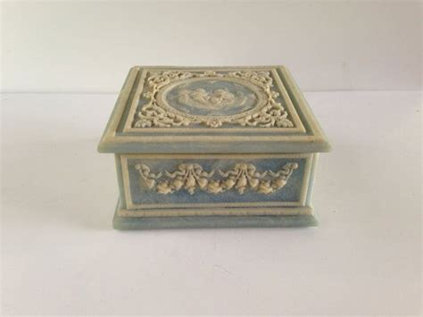 faux marble jewelry box