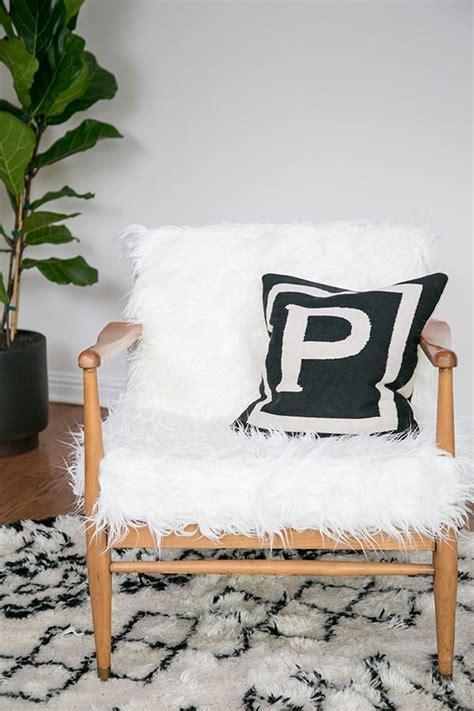 Faux Fur Chair Diy