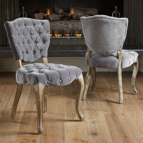 Favets Fabric Tufted Armchair