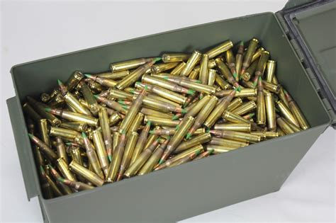 Ammunition Federal Green Tip Ammunition.