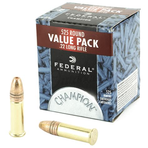 Ammunition Federal Hollow Point 22lr Ammunition.
