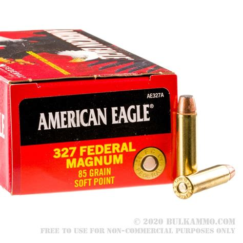 Ammunition Federal Hst 327 Magnum Ammunition.
