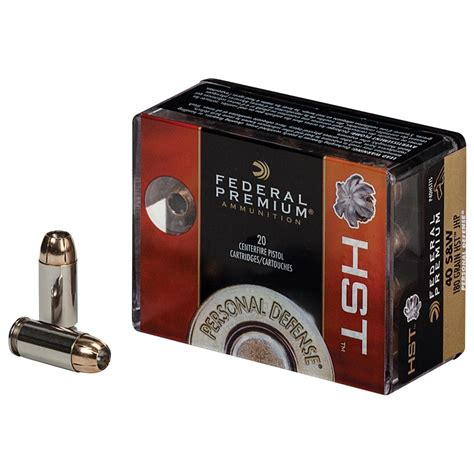 Ammunition Federal Hst Ammunition 9mm.