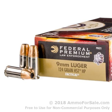 Ammunition Federal Hst Ammunition For Sale.