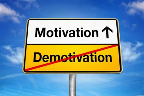 Fehlende Motivation