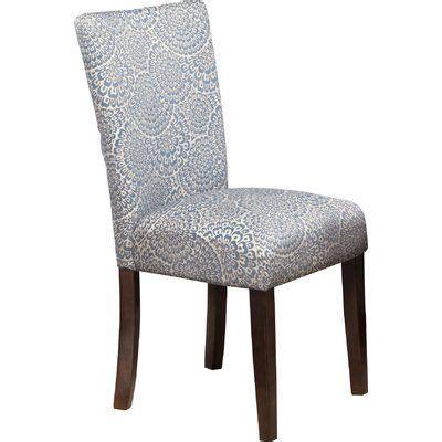 Feldman Upholstered Parsons Chair (Set of 2)