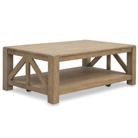 Felisha Coffee Table with Casters