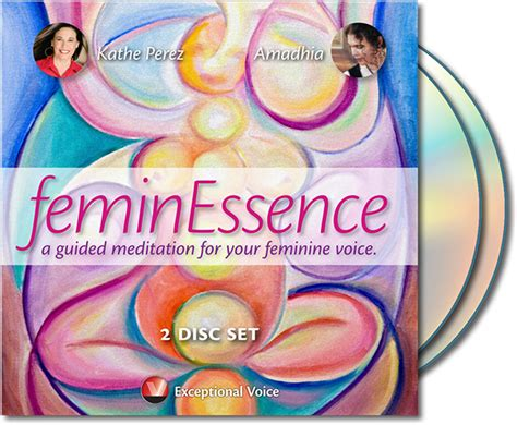 Feminessence - A Guided Meditation For Your Feminine Voice - Stacey.