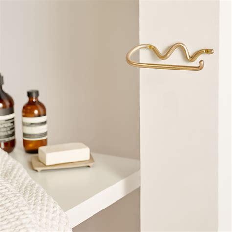 Brass Ferm Living Brass Toilet Paper Holder.