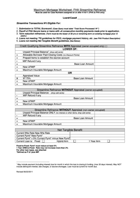 203k Loan Amount Worksheet  Functional Resume Preschool Teacher