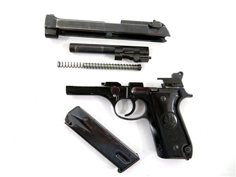 Beretta Field Strip Beretta 92fs 9mm.