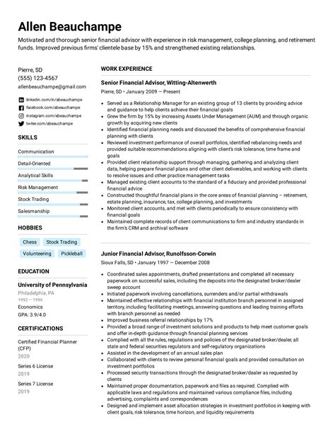 special skills and interests for resumes