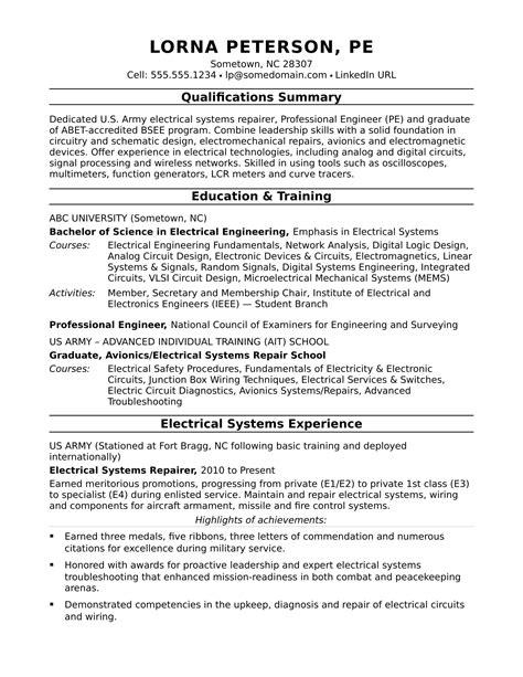 financial engineer resume electrical engineer resume sample - Financial Engineer Sample Resume