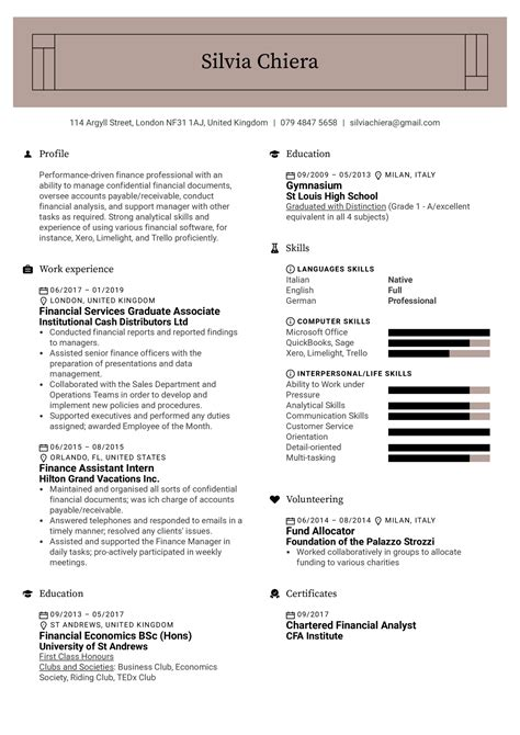 financial skills list resume sample cover letter guidance counselor