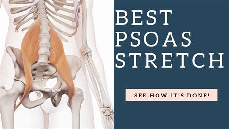 find hip flexor psoas muscle release technique