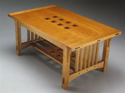 Fine Woodworking Arts And Crafts Coffee Table Plans