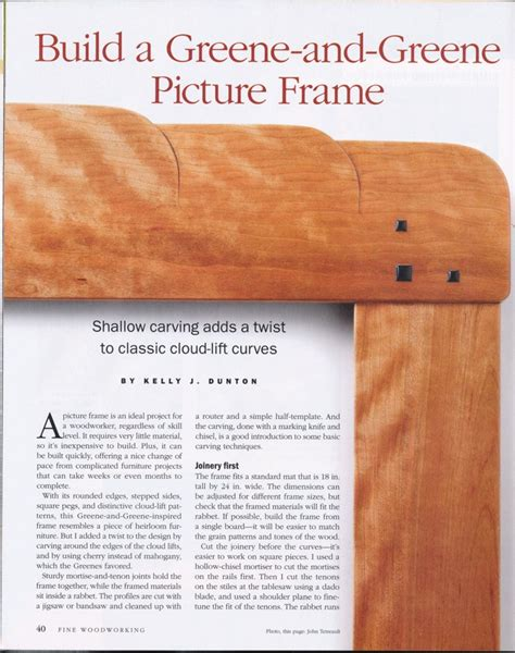 Fine Woodworking Magazine Index