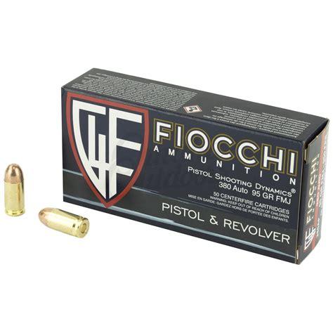 Ammunition Fiocchi Ammunition Specs.