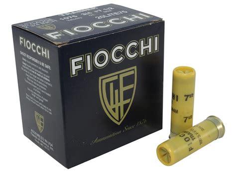 Ammunition Fiocchi Exacta Low Recoil Target Ammunition 20 Gauge.