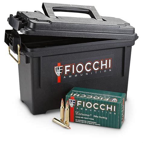 Ammunition Fiocchi Extrema Ammunition 223 Remington.