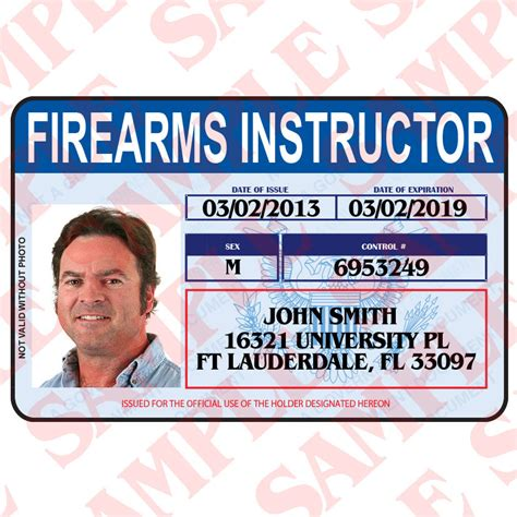 firearms id card