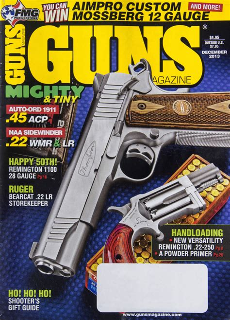 firearms magazine