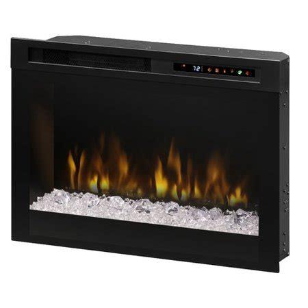 Firebox Landscape Front Mount Glass Media Electric Fireplace Insert