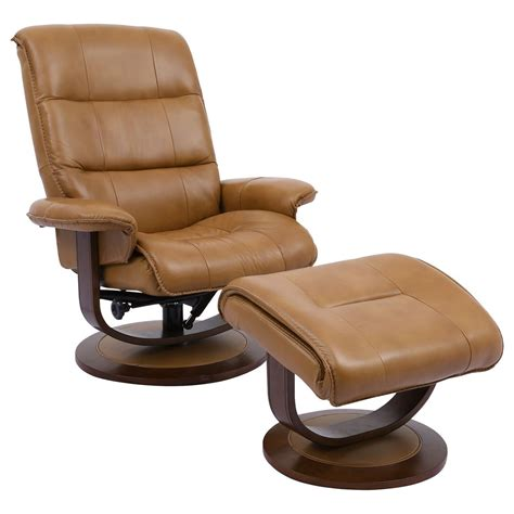 Firenze Swivel Lounge Chair and Ottoman