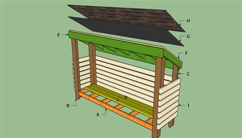 Firewood Sheds Plans
