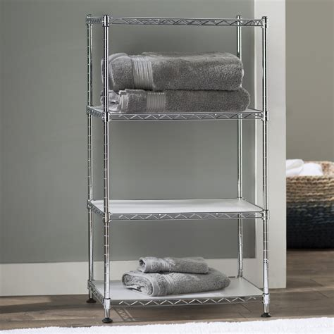Fitzgerald 17.7 W x 31.5 H Bathroom Shelf