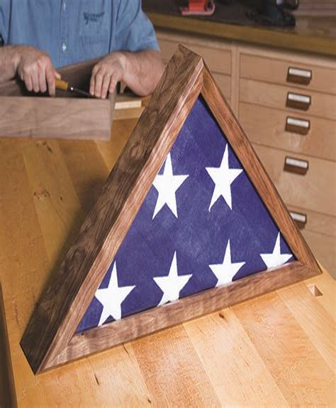 Flag Box Plans