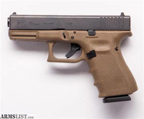 Glock-19 Flat Dark Earth Glock 19 Gen 4.