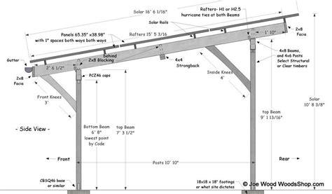 Flat Roof Carport Plans Free