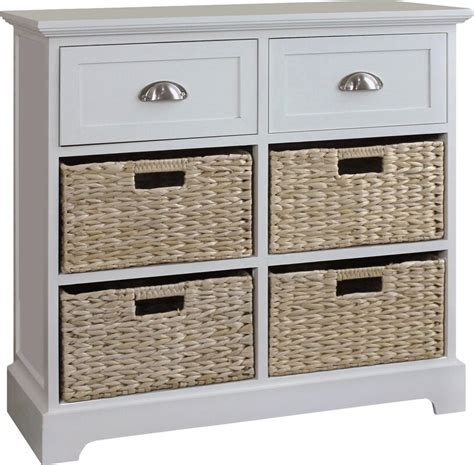 Fleming 2 Drawer 4 Basket Chest