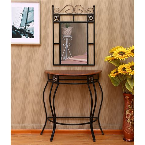 Fletcher Console Table and Mirror Set