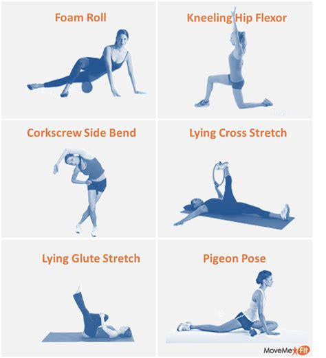 flexor hip strain stretches for it band